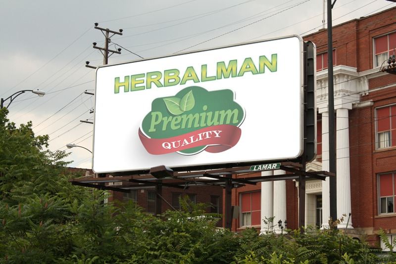 Herbalman werbebanner
