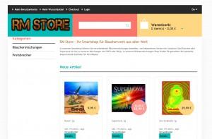 raeuchermischungen shop RM Store