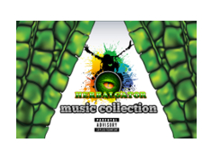 Herbalgator Music collection cover grid
